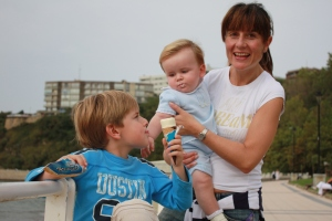 My Family (Cristina, Asier and Jon Ander)